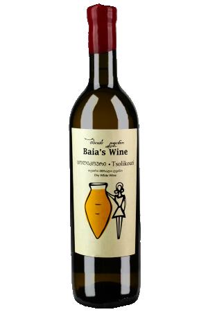 ბაიას ღვინო ცოლიკოური 2020