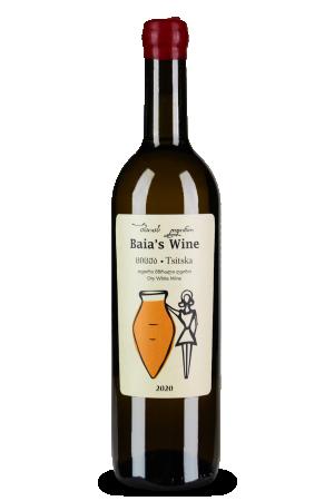 ბაიას ღვინო ციცქა 2020